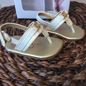 108e14a908d Jessica Simpson Shoes - Jessica Simpson Infant Girl Thong Sandals